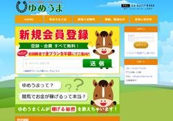 優良競馬予想サイト ゆめうま (夢馬)